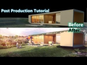 Photoshop - Post production for V-ray